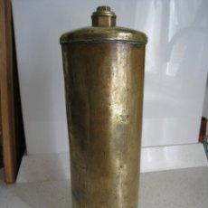 Antigüedades: ANTIGUO Y EXTRAORDINARIO CALENTADOR DE PIES DE METAL MUY FUERTE Y PESADO. Lote 108716059