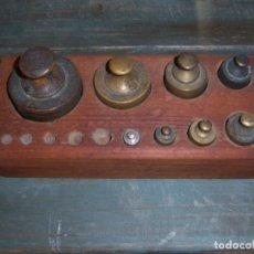 Antigüedades: LOTE DE PONDERALES. Lote 108764891