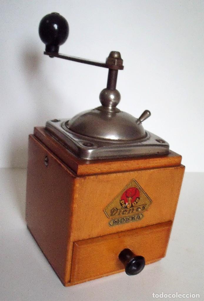 Antigüedades: MOLINILLO DE CAFÉ MARCA DIENES. MODELO 600. ALEMANIA. CA. 1950 - Foto 3 - 108848251