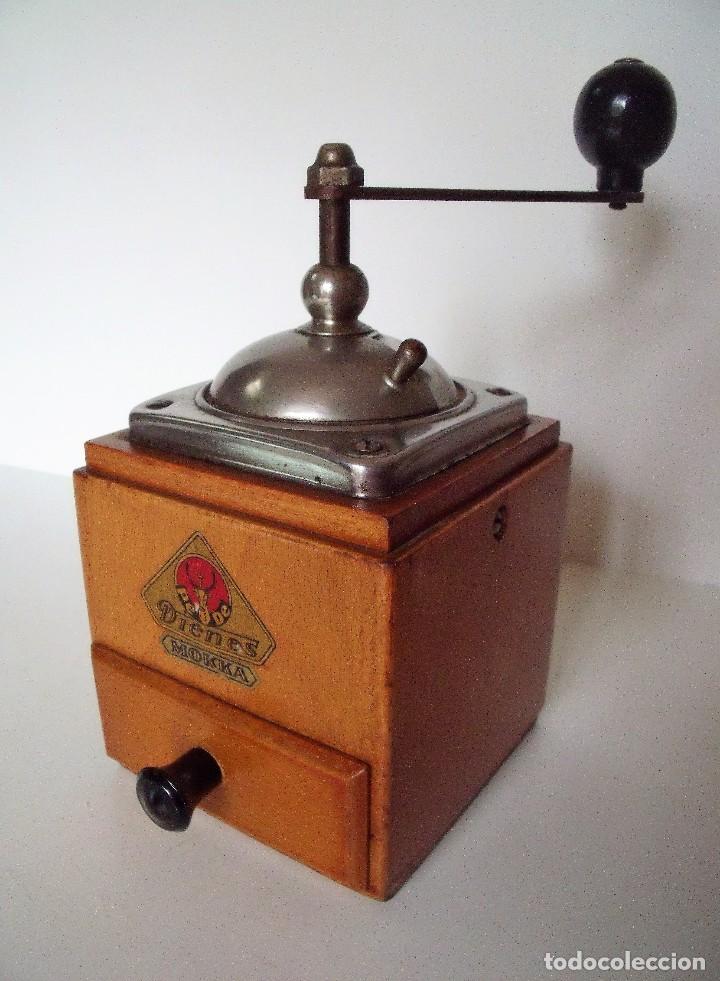 Antigüedades: MOLINILLO DE CAFÉ MARCA DIENES. MODELO 600. ALEMANIA. CA. 1950 - Foto 4 - 108848251