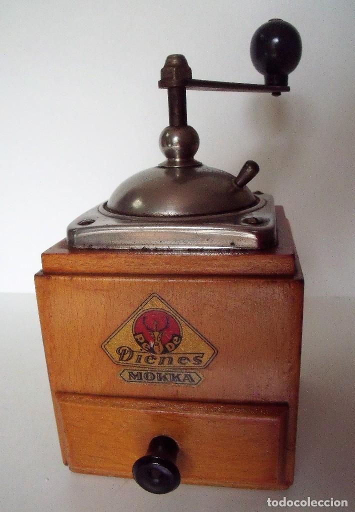 Antigüedades: MOLINILLO DE CAFÉ MARCA DIENES. MODELO 600. ALEMANIA. CA. 1950 - Foto 5 - 108848251