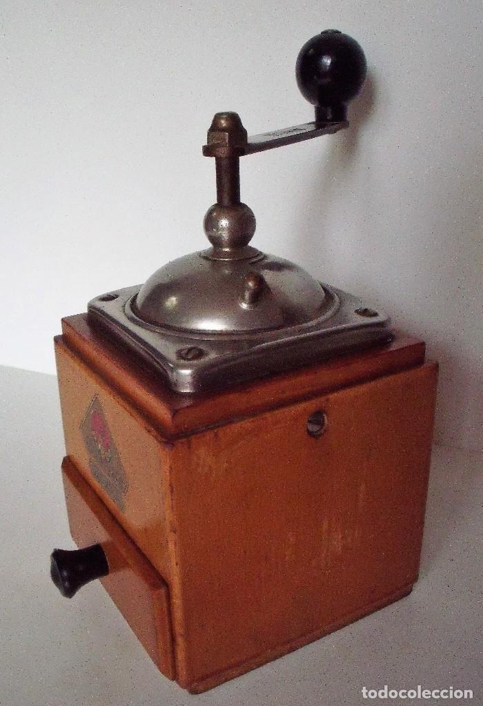 Antigüedades: MOLINILLO DE CAFÉ MARCA DIENES. MODELO 600. ALEMANIA. CA. 1950 - Foto 8 - 108848251