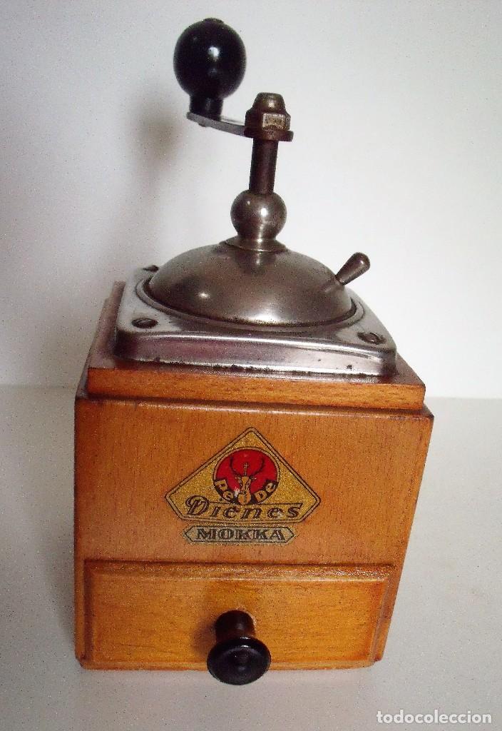 Antigüedades: MOLINILLO DE CAFÉ MARCA DIENES. MODELO 600. ALEMANIA. CA. 1950 - Foto 9 - 108848251