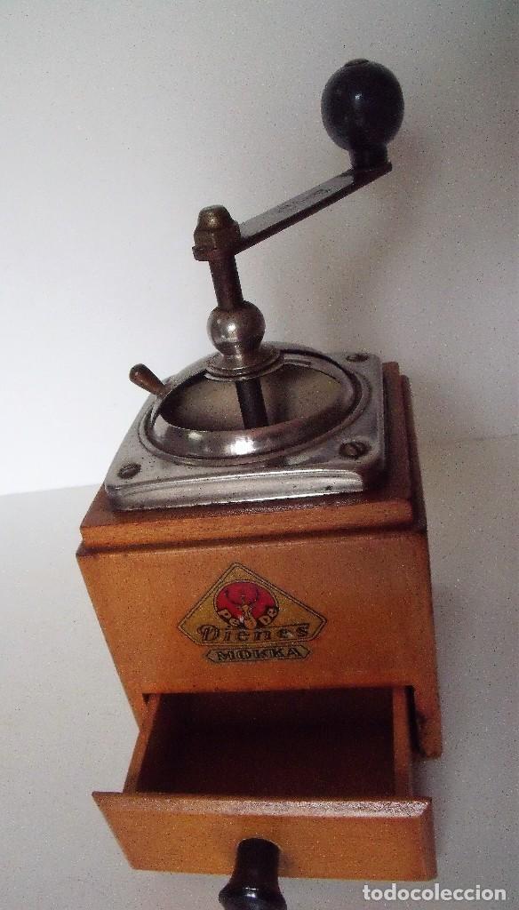 Antigüedades: MOLINILLO DE CAFÉ MARCA DIENES. MODELO 600. ALEMANIA. CA. 1950 - Foto 10 - 108848251