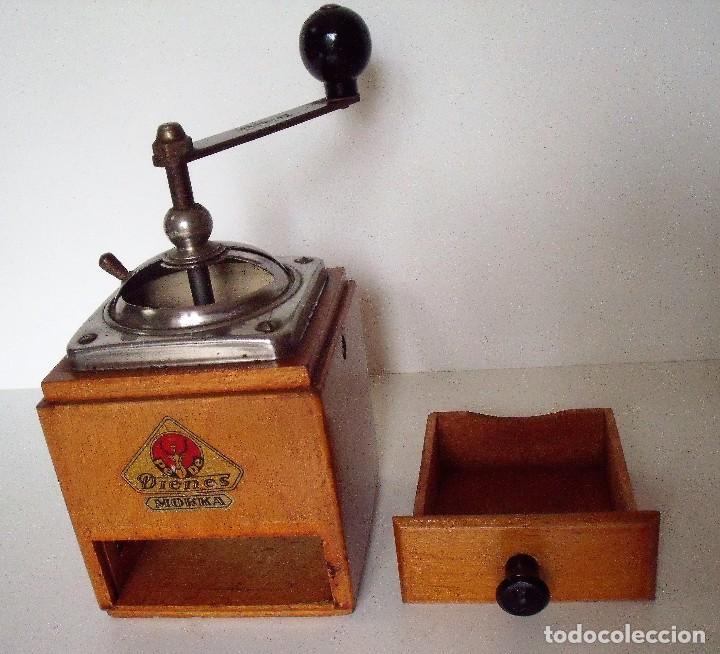 Antigüedades: MOLINILLO DE CAFÉ MARCA DIENES. MODELO 600. ALEMANIA. CA. 1950 - Foto 12 - 108848251
