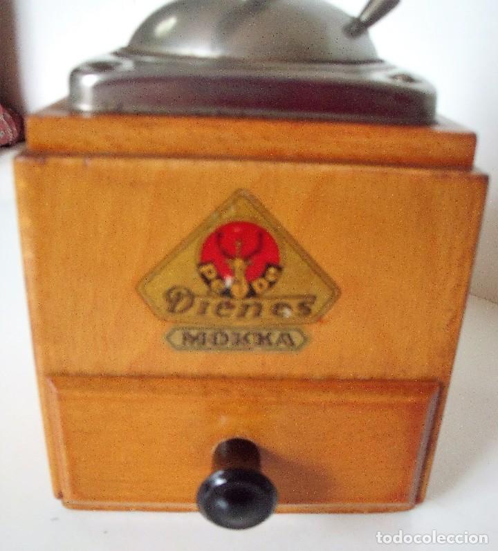 Antigüedades: MOLINILLO DE CAFÉ MARCA DIENES. MODELO 600. ALEMANIA. CA. 1950 - Foto 21 - 108848251