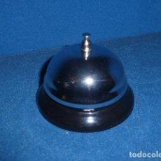 Antigüedades: LLAMADOR DE HOTEL CON COLOR NEGRO Y PLATA . Lote 108874143