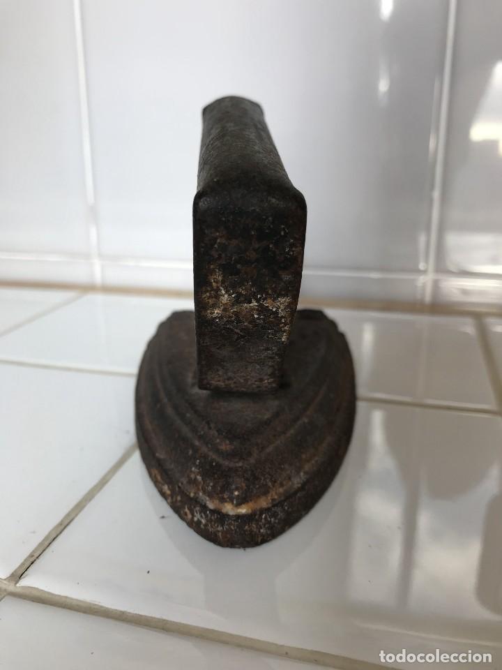 Antigüedades: Antigua Plancha de Hierro fundido nº 3S - Unión Cerrajera - Foto 5 - 123519887