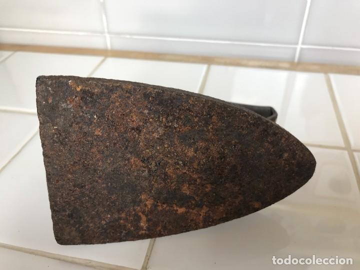 Antigüedades: Antigua Plancha de Hierro fundido nº 3S - Unión Cerrajera - Foto 7 - 123519887