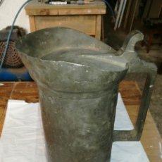 Antigüedades: MEDIDA DE ESTAÑO JM /. Lote 108900432
