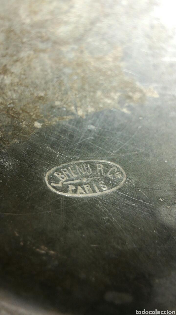 Antigüedades: Medida de estaño JM / - Foto 5 - 108900432
