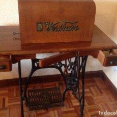 Antigüedades: MÁQUINA DE COSER WERTHEIM. Lote 108983291
