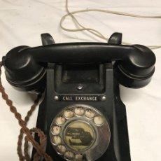 Teléfonos: TELÉFONO INGLÉS ANTIGUO, FUNCIONA. Lote 108996995