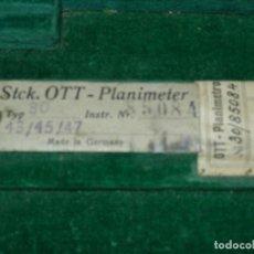 Antigüedades: PLANIMETRO OTT 30/85084. Lote 109025483
