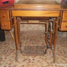Antigüedades: ANTIGUA MAQUINA COSER SINGER 1933. Lote 109040167