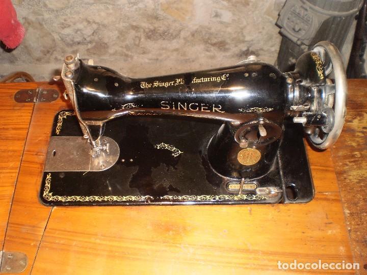 Antigüedades: antigua maquina coser singer 1933 - Foto 3 - 109040167