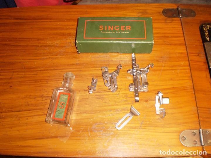 Antigüedades: antigua maquina coser singer 1933 - Foto 6 - 109040167