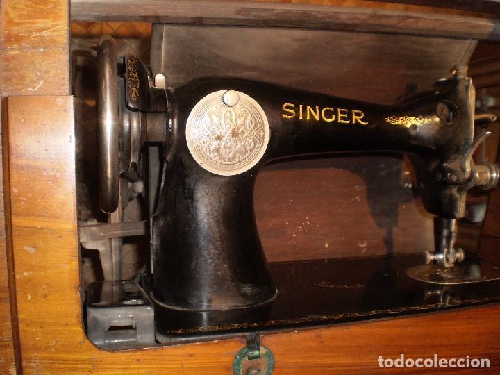Antigüedades: antigua maquina coser singer 1933 - Foto 13 - 109040167