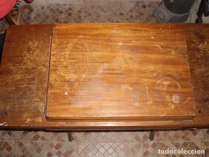 Antigüedades: antigua maquina coser singer 1933 - Foto 14 - 109040167