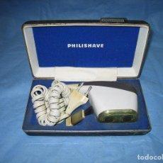 Antigüedades: MAQUINILLA ELECTRICA DE AFEITAR PHILISHAVE DE PHILIPS. Lote 109041335