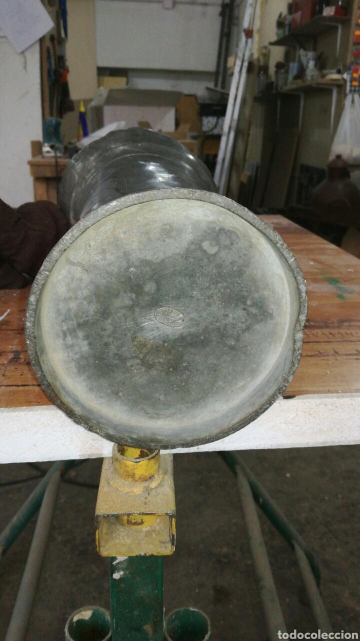 Antigüedades: Medida de estaño JM / - Foto 6 - 108900432
