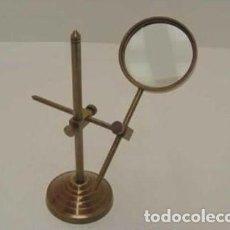 Antigüedades: LUPA CON SOPORTE. Lote 149350512