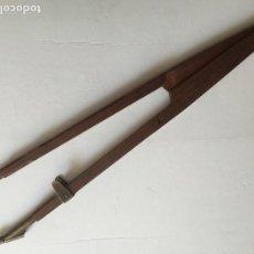 Antigüedades: MAGNIFICO COMPAS DE MADERA 50 CM.. Lote 109077815