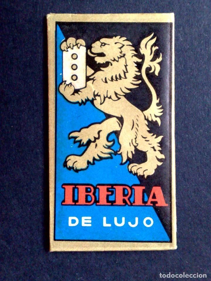 Antigüedades: HOJA DE AFEITAR ANTIGUA-IBERIA DE LUJO-VINTAGE - Foto 2 - 109145179