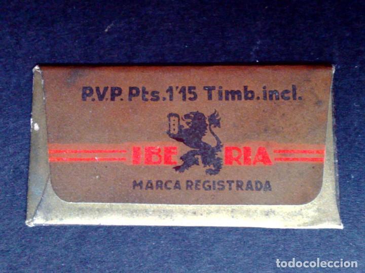 Antigüedades: HOJA DE AFEITAR ANTIGUA-IBERIA EXTRA LUJO-VINTAGE - Foto 2 - 109145275