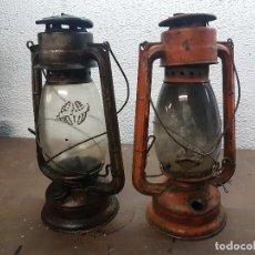 Antigüedades: LAMPARAS DE MINERO. Lote 109204095