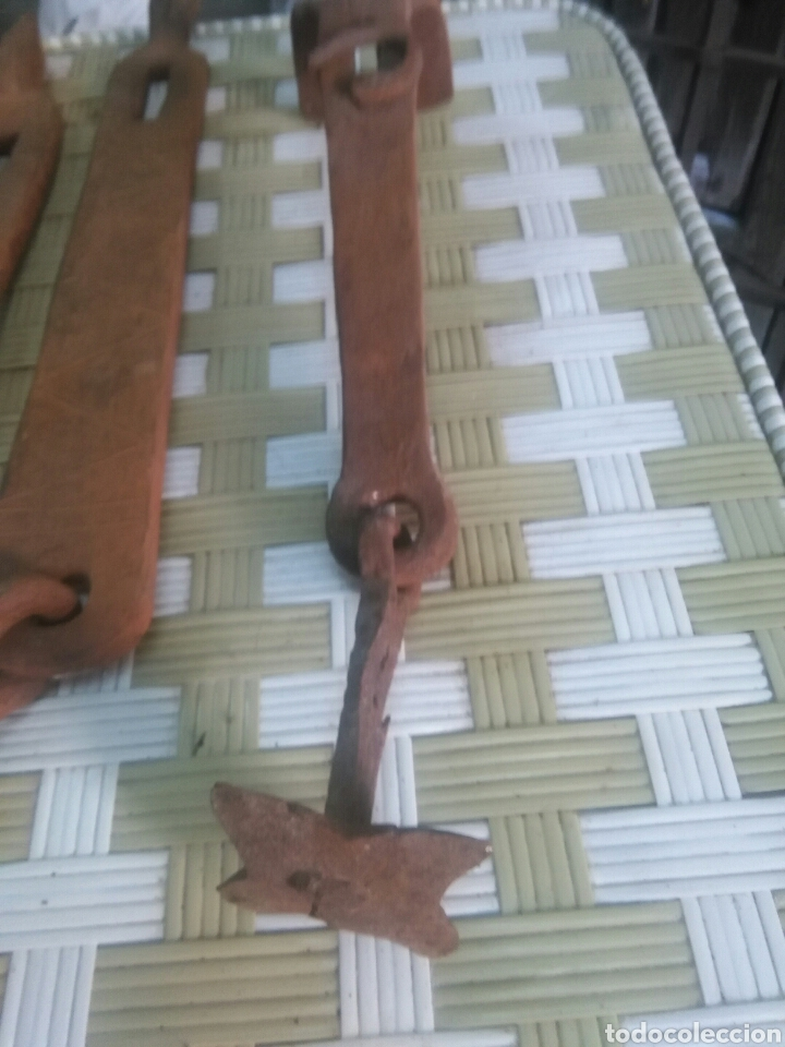 Antigüedades: Lote de hierros antiguos - Foto 5 - 109264148