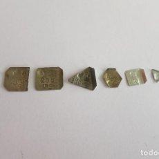 Antigüedades: PESAS EN MILIGRAMOS CONTRASTADAS. Lote 109269227