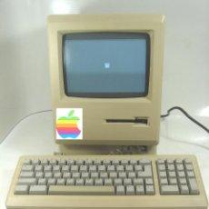 Antigüedades: FIRMADO S.JOBS-APPLE MACINTOSH M0001AP COMPACT 1986 ¡¡¡ENCIENDE¡¡¡ ORDENADOR CPU PC COMPUTADORA 128K. Lote 229143045