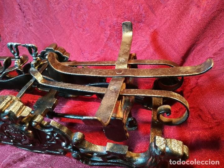 Antigüedades: EXPECTACULAR BALANZA ESPAÑOLA CON ESCUDO LOGO DE FARMACIA ORIGINAL ESPAÑA SIGLO XIX - Foto 13 - 109306863