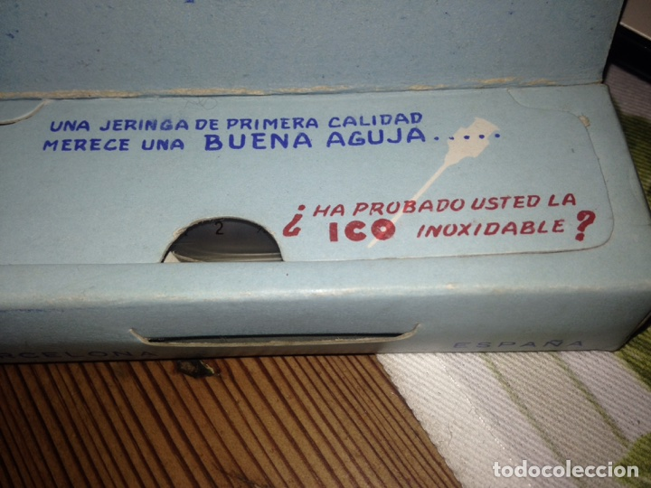 Antigüedades: JERINGA ICO-CLARA - Foto 2 - 109383759