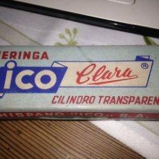 Antigüedades: JERINGA ICO-CLARA. Lote 109383759