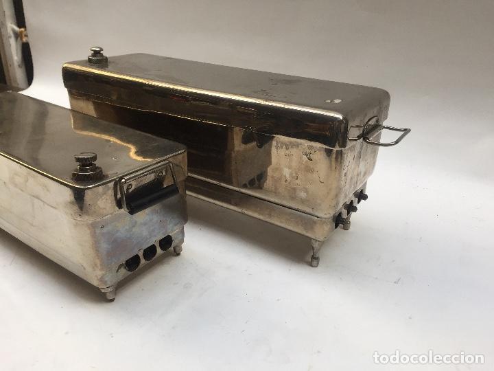 Antigüedades: ESTERILIZADOR AUTOCLAVE MEDICO 1950 - Foto 2 - 109498639
