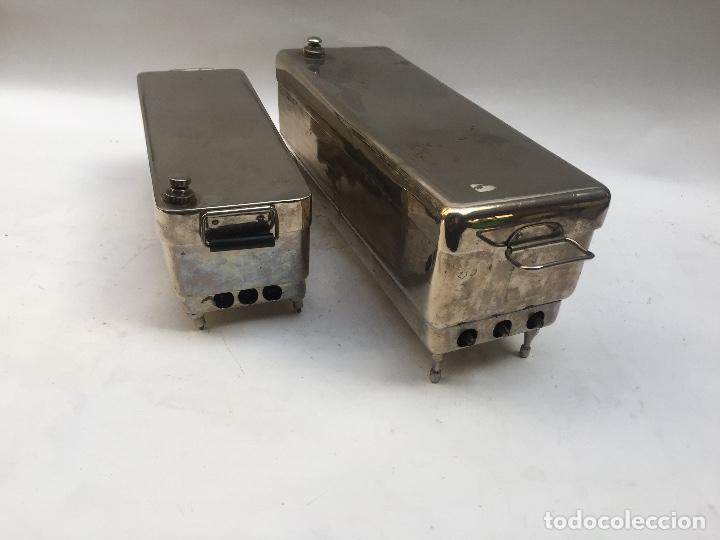 Antigüedades: ESTERILIZADOR AUTOCLAVE MEDICO 1950 - Foto 3 - 109498639