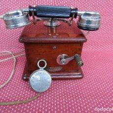 Teléfonos: ANTIGUO TELEFONO FRANCES DE LA MARCA TELEPHONIE GENERALE (P. JACQUESSON). PARÍS. AÑO 1930.. Lote 133786181