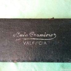 Antigüedades: GAFAS ANTIGUAS ..LUIS CRUMIERE..VALENCIA. Lote 110011215