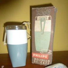 Antigüedades: MOLINILLO MARCA PHILIPS. AÑOS 70. NUNCA USADO, DE STOCK DE TIENDA. RETRO VINTAGE.. Lote 110012435