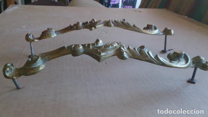 Antigüedades: 2 TIRADORES PUERTA ARMARIO - Foto 2 - 110014035