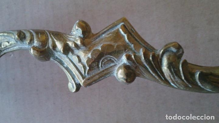 Antigüedades: 2 TIRADORES PUERTA ARMARIO - Foto 4 - 110014035