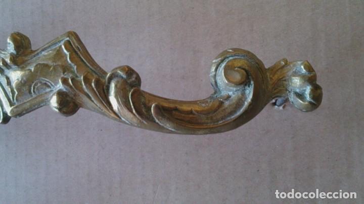 Antigüedades: 2 TIRADORES PUERTA ARMARIO - Foto 6 - 110014035