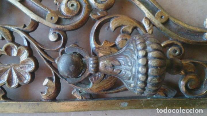 Antigüedades: 2 PRECIOSOS Y GRANDES TIRADORES PUERTA ARMARIO - Foto 4 - 110014531