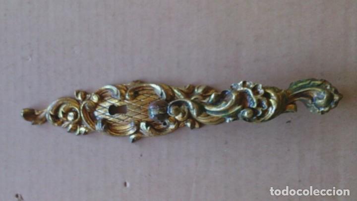 Antigüedades: 4 PRECIOSOS TIRADORES PUERTA ARMARIO - Foto 3 - 110015383