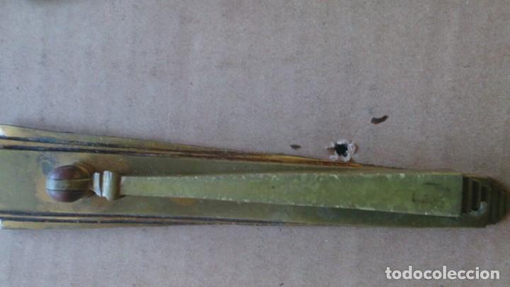 Antigüedades: 2 PRECIOSOS TIRADORES PUERTA ARMARIO - Foto 4 - 110021215