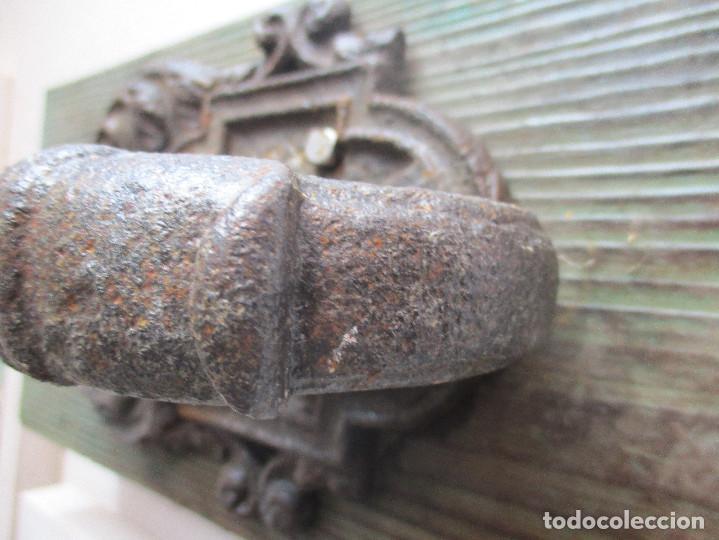 Antigüedades: LLamador grande Forja siglo XVIII - Foto 7 - 110150639
