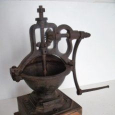 Antigüedades: MOLINILLO DE CAFÉ MARCA MUTZIG FRAMONT. MODELO AP. TAMAÑO 0. ALEMANIA/FRANCIA CA.1888/1932. Lote 110156083