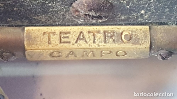 Antigüedades: BINOCULARES DE OPERA. FUNDA DE TELA. TEATRO CAMPO MARINA. SIGLO XIX. - Foto 3 - 110185055